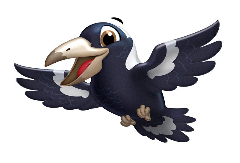 Marley & Birdy, il feroce maremmano salva una gazza